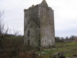 Ruiny hradu v Merlin parku