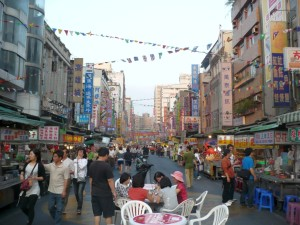Liouhe night market