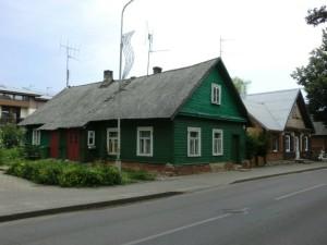 Historické domy v Trakai