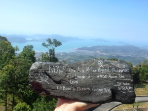 Výhled z Gunung Raya