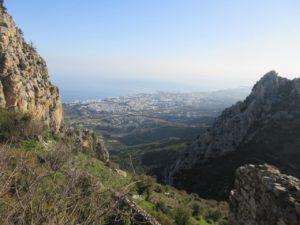 Výhled na Kyrenii