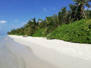 Pláž na Dhigurahu