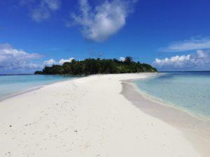 Ostrov Omadhoo - sandbank